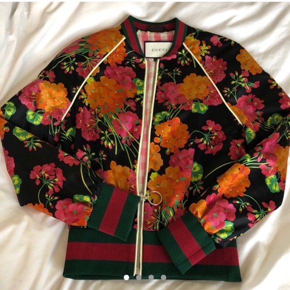 Gucci Floral Silk Jacket
